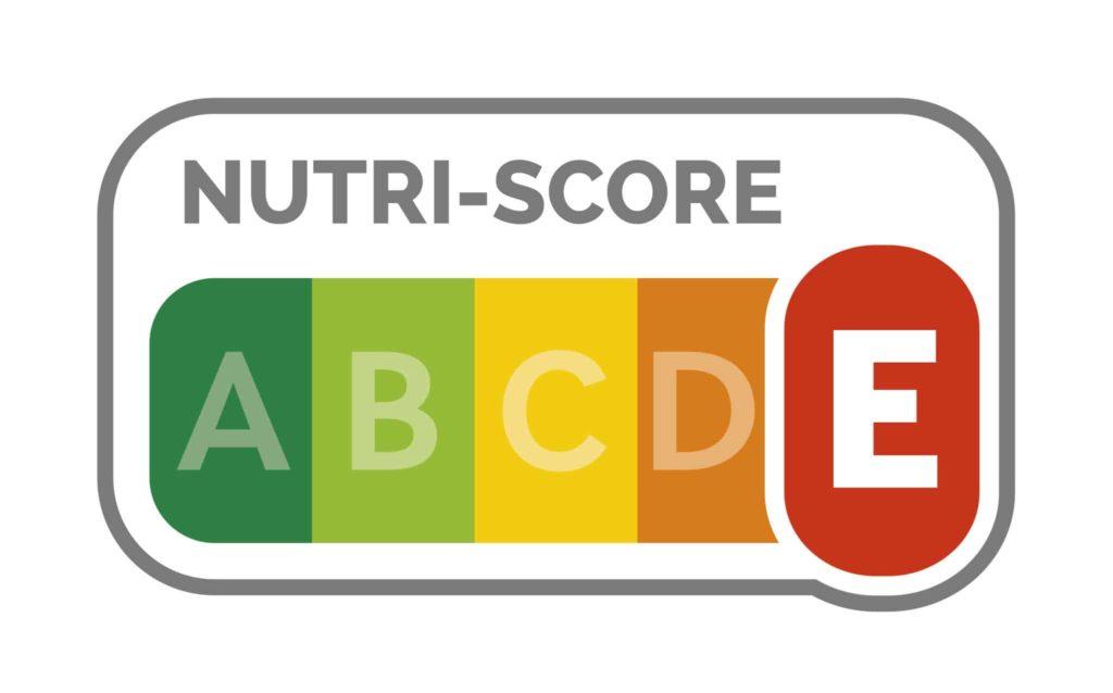 NUTRI-SCORE E