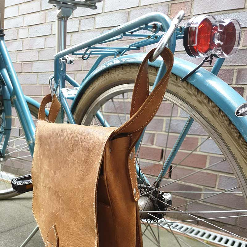 DIY - Fahrradtasche / Satteltasche