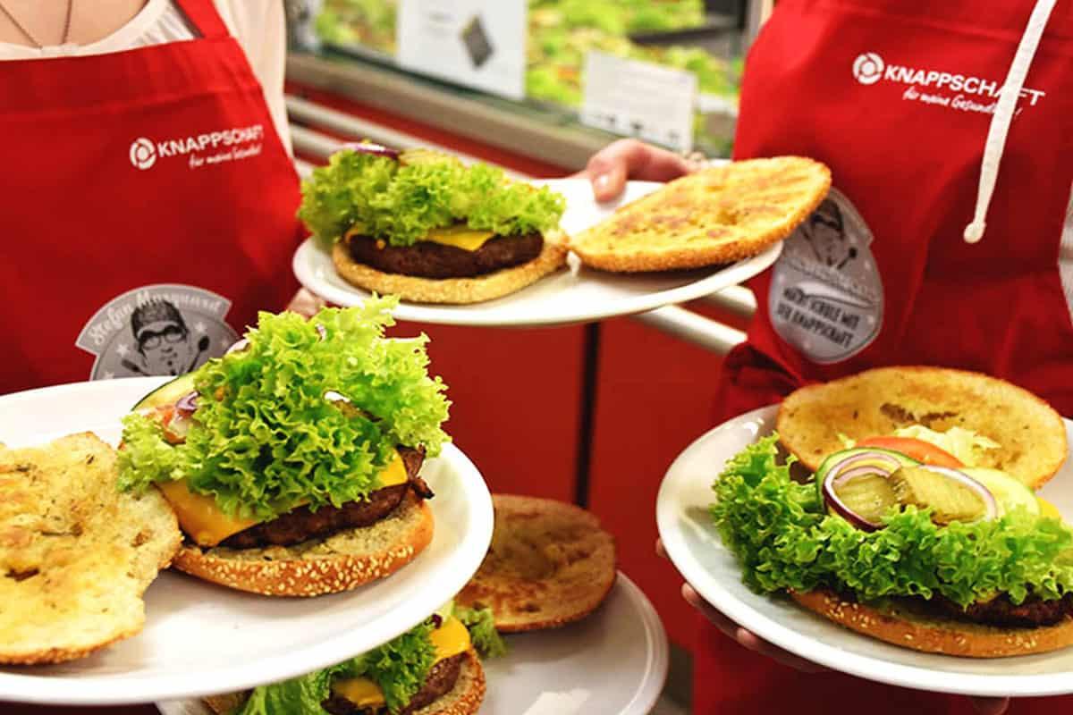 Drei der leckeren Power Burger von Stefan Marquard
