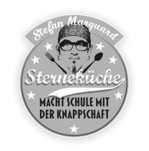 Das Logo von Sterneküche macht Schule mit Stefan Marquard