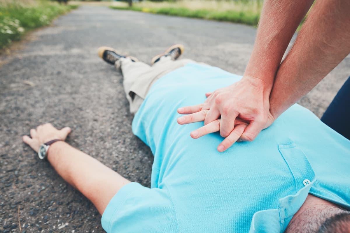 Wer Erste Hilfe leistet, rettet Leben!