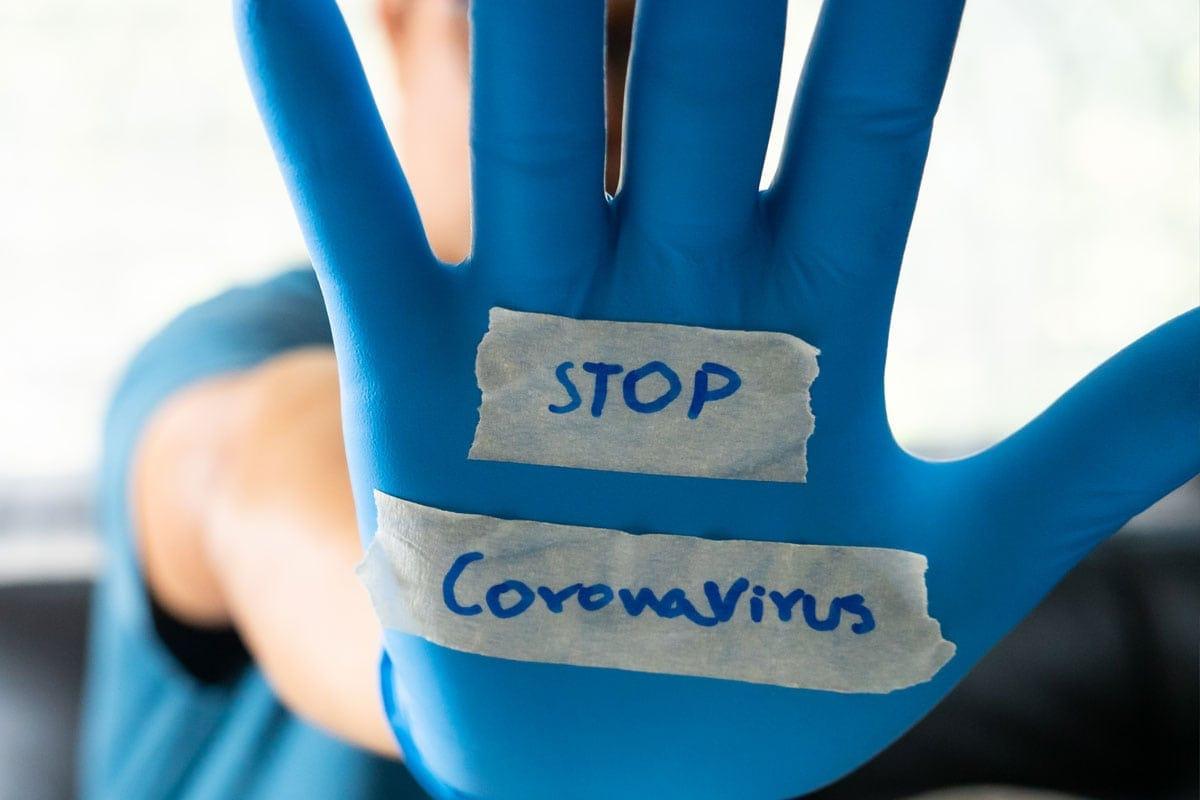 Stop den Coronavirus