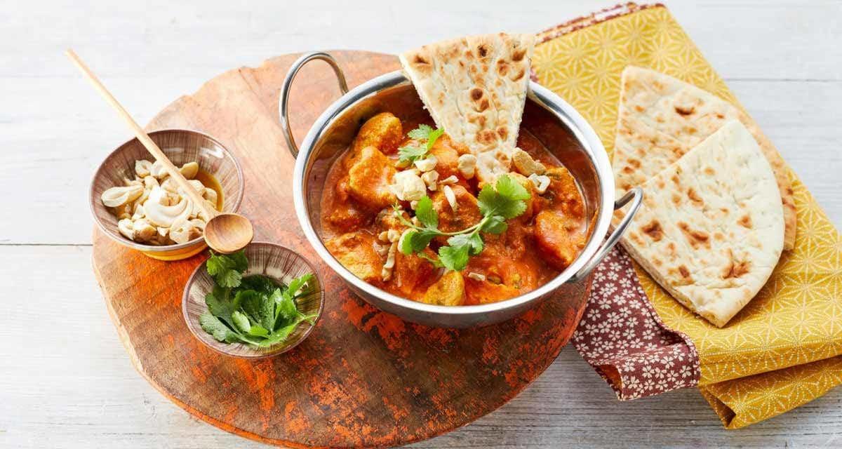 Chicken Tikka Masala mit frischem Ingwer