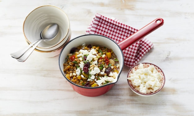 Linsen-One-Pot mit Lauch