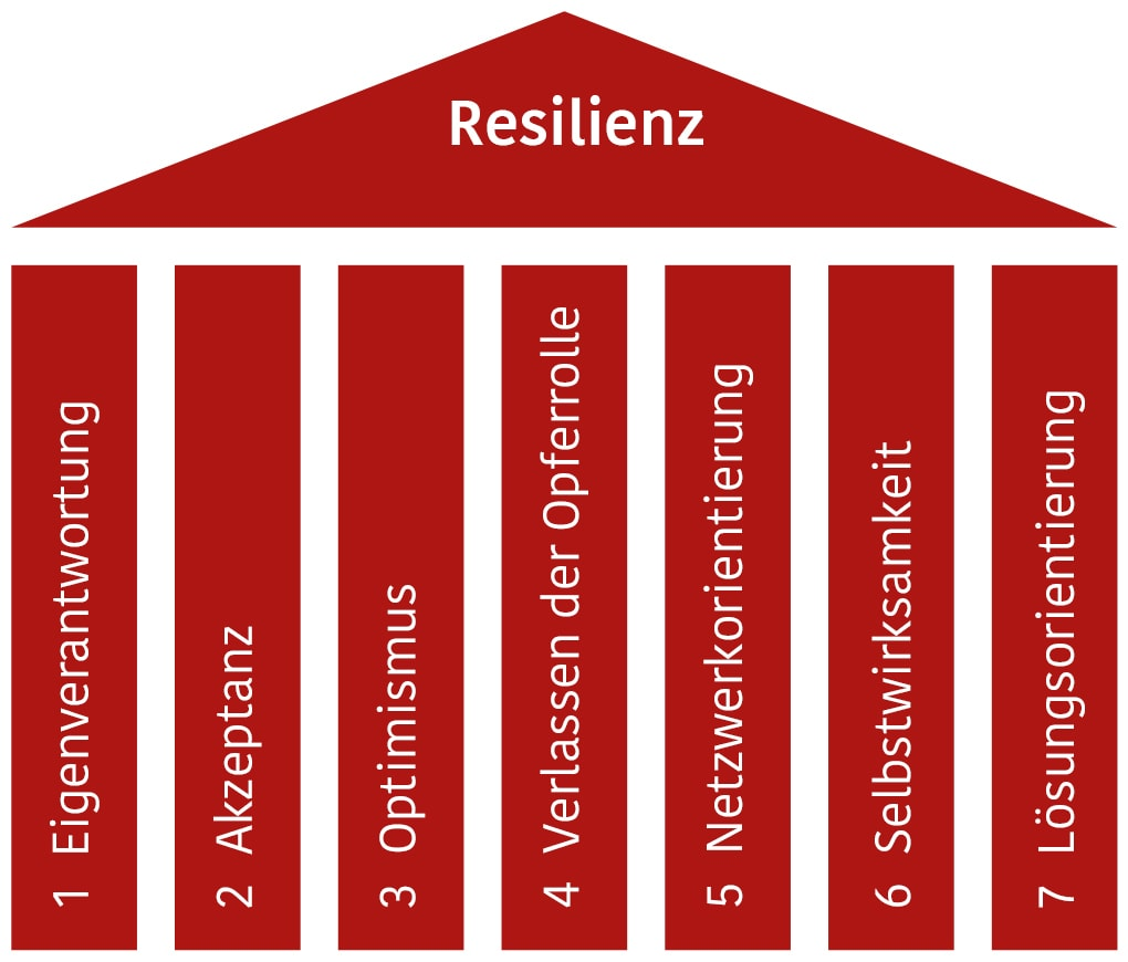 sieben saeulen resilienz