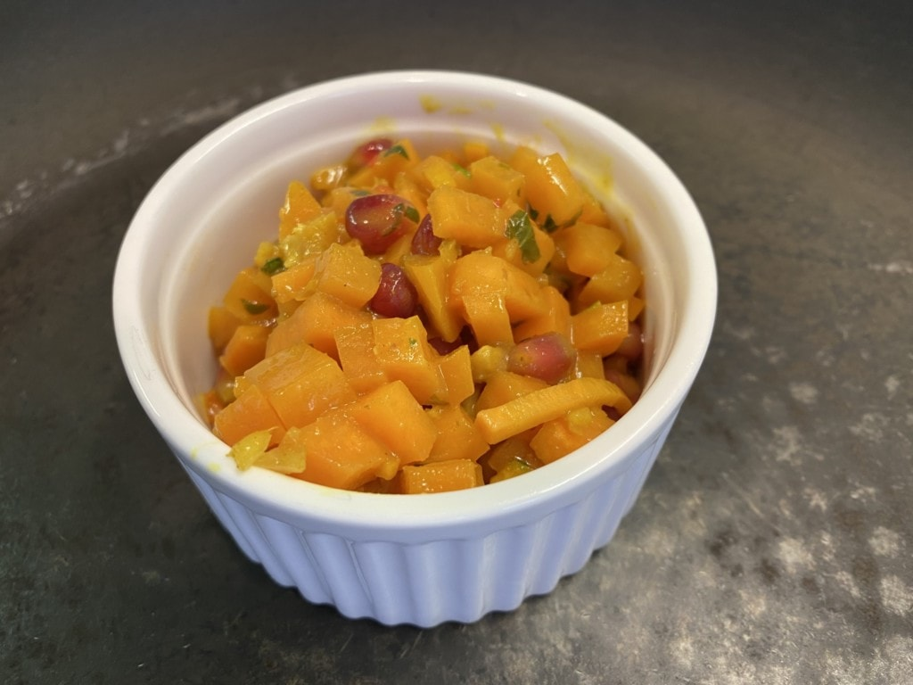 Süßkartoffel mit Granatapfel
